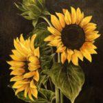 De gulaste solrosor - 738