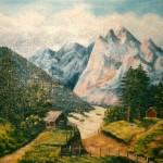 Bland berg o dal - 286