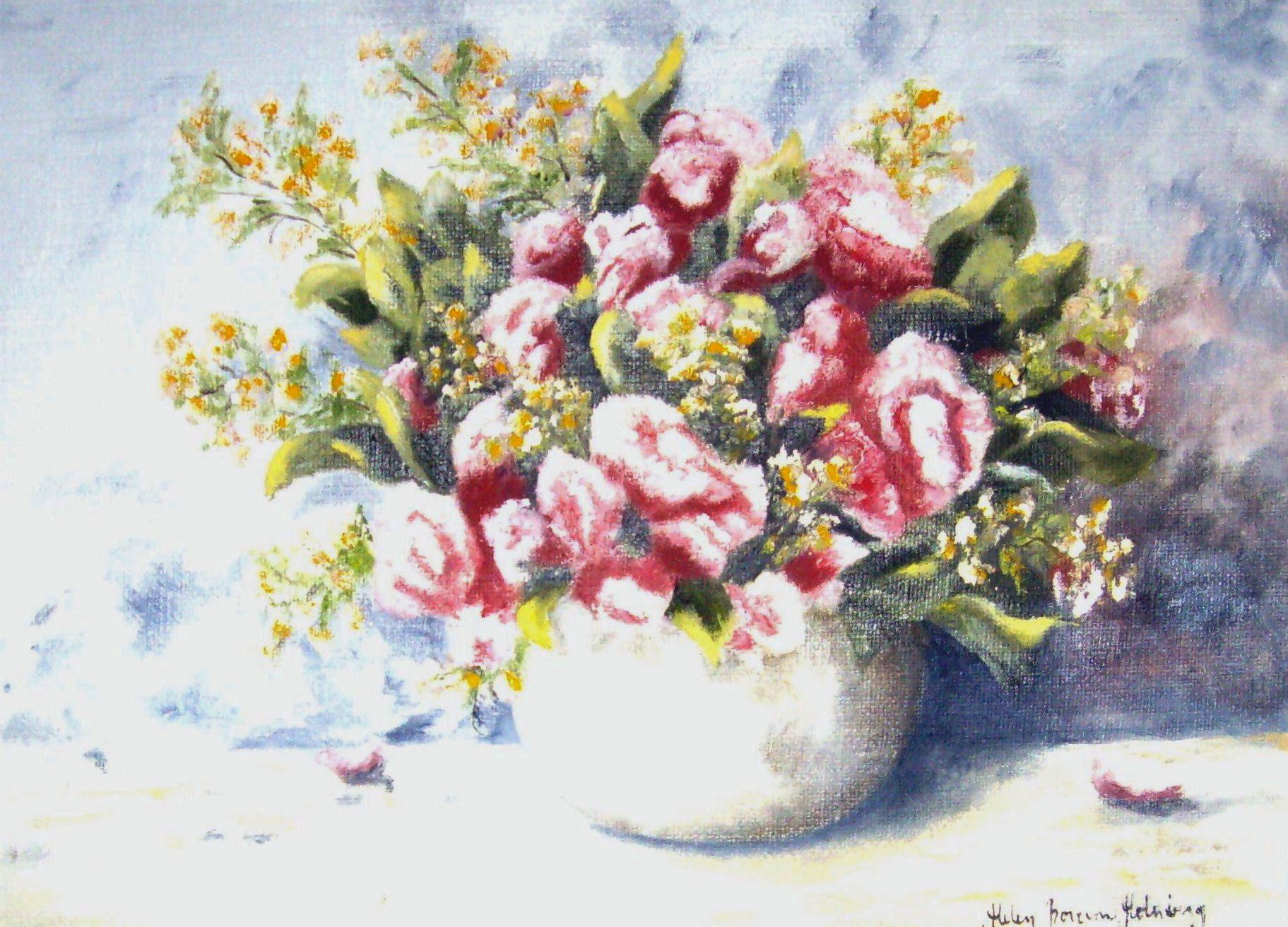 Blommor i kruka - 374