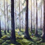 I skogen efter regn -291