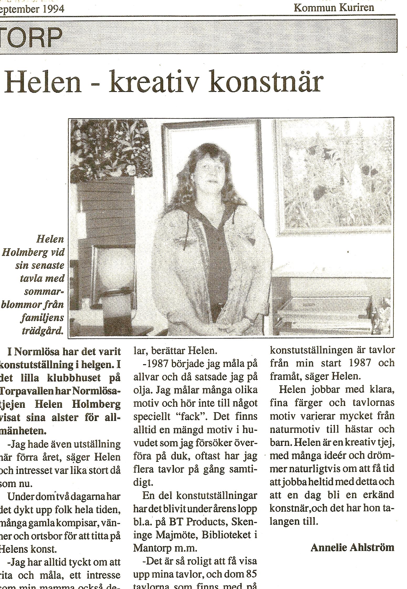 Kommun Kuriren September -94