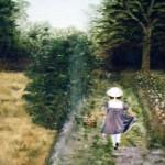 Liten trädgårdsflicka - 057
