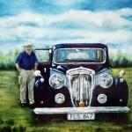 Med sin Daimler - 395