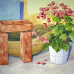Stilleben med begonia - 278