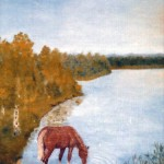 Törstig häst - 026
