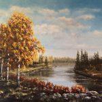 Björkar vid vattendrag- 593