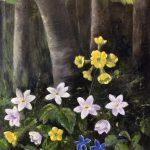 Blommor om våren. Till Gitta-642