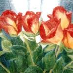 Famnen full av rosor - 289