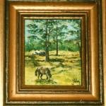 Häst på bete - 168
