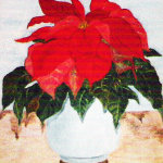 Julstjärna - 025