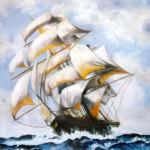 På stormigt hav - 204